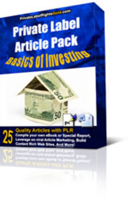 Product picture Investment Basics Articles PLR - Investing 25 Articles
